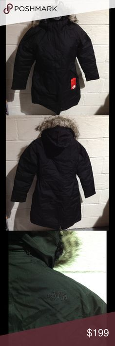 The North Face Women's Arctic Down Parka This insulated winter coat will not only keep you warm but stylish! Waterproof outer, removable hood with zip-off faux fur trim and goose down! (PM-W0152) North Face Jackets & Coats