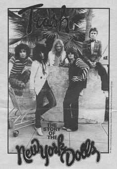 #nydolls #thebook #trash #70s