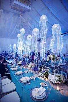 Afbeeldingsresultaten voor Under The Sea Wedding Theme Decorations