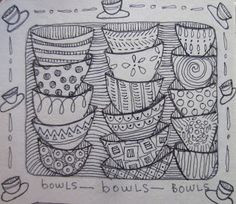 Bowled Over in the Sketchbook