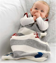 Babies Knitting Patterns Sleeping Bag Pattern