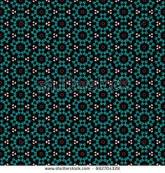 Hexagonal symmetry vector ornaments. Geometric pattern for ceramic tile, surface design, textiles, printing, wallpaper.The endless texture with abstract stars.