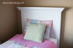 Ana White | Build a Twin Bed Beadboard Headboard | Free and Easy DIY Project and Furniture Plans