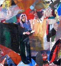 Original People Painting by Kerro Holmberg Original Paintings, Original Art, Stand By Me, Pink Hair, Artwork Online, Oil On Canvas, Saatchi Art, Colours, Artist