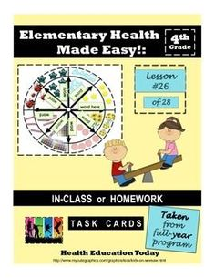 """Interactive Lesson FREE!: Friendship Activity Lesson for 3rd-5th grade. Get this interactive activity where students learn the importance of friendship and do a FUN!! wheel art project created with """"traits of a good friend."""""""
