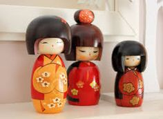 Image result for kokeshi dolls images