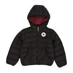 Converse Packable Padded Jacket  - Black