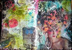 floralie 4 by Anne, Bulles dorées, via Flickr
