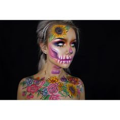 "2,269 Likes, 135 Comments - ☠️Morgan Shay Roberts☠️ (@typical_white_girl_sfx) on Instagram: ""2018 NYX Face Award Entry For this look I really wanted to help bring attention to a very…"""