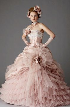dball~dress ballgown Pink Prom Dresses, Quinceanera Dresses, Bridal Dresses, Nice Dresses, Pink Colour Dress, Pink Dress, Beautiful Costumes, Beautiful Gowns, Gown Pattern
