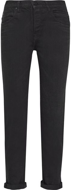 Alexander Wang 003 mid-rise boyfriend jeans Lily Rose Depp, Boyfriend Jeans, Alexander Wang, Bermuda Shorts, Black Jeans, Skinny Jeans, Denim, Stylish, Pants