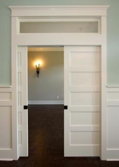 sliding doors with transom windows - Google Search