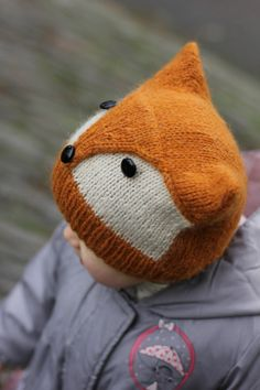 Knitting Pattern Foxy & Wolfie Toddler Child Adult by KatyTricot https://www.etsy.com