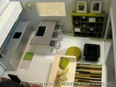 Modern Mini Houses: Fashion House Tour