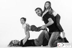 Photo de famille en studio