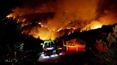 Twin Oaks Fire