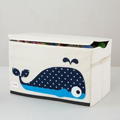 Whale Toy Box