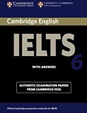 Cambridge Ielts 6 Self-study Pack: Examination Papers from University of Cambridge Esol Examinations: English for Speakers of. Cambridge Book, Cambridge Ielts, Cambridge Exams, Cambridge English, English Exam, English Book, English Study, English Lessons, Learn English