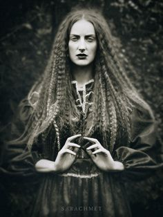 .If she's not a witch, she deserves to be. Powerful gaze.