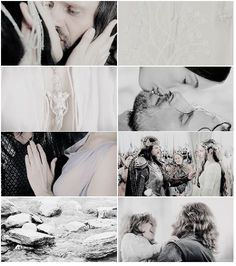 """aragorn and arwen (lord of the rings) """"I would rather share one lifetime with you than face all the ages of this world alone."""""""