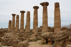 Temple of Hercules, Agrigento.