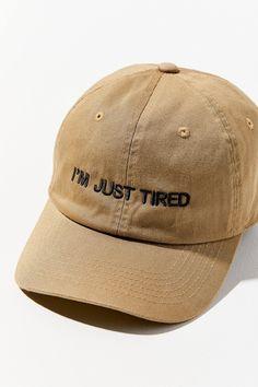 d6913559bab9f Intentionally Blank I Said I m Fine Baseball Hat