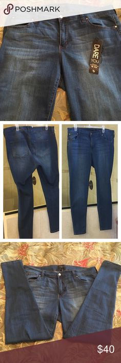Plus sized skinny jeans By Celebrity Pink. These are brand new, never worn, with detached tag. Size 18. Low rise. Price firm as these are brand new and already heavily discounted. Celebrity Pink Jeans Skinny