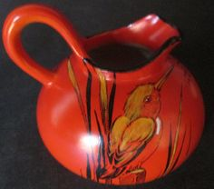 English Porcelain - Shelley Kingfisher Hand Painted Jug for sale in Pretoria…