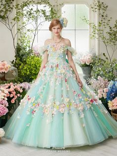 We can imagine a fairy twirling around in this floral dress from Nicole Collection!