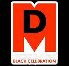 Depeche Mode; Black Celebration t shirt art design. 1986.