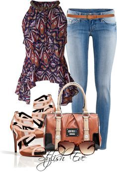 Stylisheve clothing combination fashion outfit. For more follow www.pinterest.com/ninayay and stay positively #pinspired #pinspire @ninayay