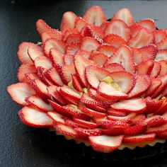 Rhubarb Curd Shortcake with Fresh Strawberries by eatswellwithothers, via Flickr
