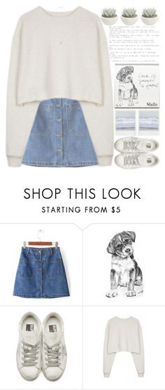 """""""COMMENT YOUR FAVORITE SONG SO I CAN LISTEN TO IT"""" by alienbabs ❤ liked on Polyvore featuring Golden Goose, Organic by John Patrick, clean, organized and shein"""