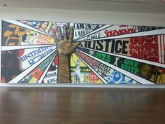 Inside the Center for Civil and Human Rights Museum in Atlanta