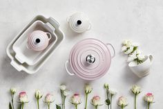 New Shell Pink has been inspired by the soft tones of seashells, capturing the essence of romance and summer sunsets. Add an elegant blush to the kitchen and the home with Shell Pink from Le Creuset, launching in store and online at www.lecreuset.co.za from 14th February 2020. Summer Sunset, Le Creuset, Sea Shells, Food Photography, Product Launch, Colours, Kitchen, Pink, Cookware