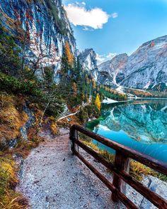 Lago di Braies, Italy - ALTUG GALIP (@kyrenian) on Instagram