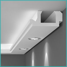 All Details You Need to Know About Home Decoration - Modern Roof Ceiling, Ceiling Lamp, Ceiling Lights, Cove Lighting, Indirect Lighting, Karton Design, Small Projects Ideas, Radiant Floor, Spot Led
