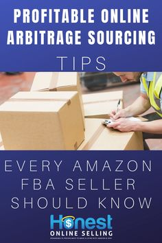 Do you know about these profitable online arbitrage sourcing tips? Amazon FBA sellers can increase their profits easily with the right tools, resources, and software. Learn how to level up your online business with all 9 power sourcing tips. Get an unfair advantage over your competition with these 2 online arbitrage tools. One of them is FREE! Get it now from Jordan Malik at Honest Online Selling. Remarkable and proven ways to make a living with Amazon & Ebay. #fba #onlinebusiness #arbitrage Make Money On Amazon, Sell On Amazon, Way To Make Money, Make Money Online, Money Fast, Best Business To Start, Business Tips, Online Business, Amazon Online