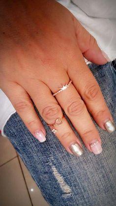 Ασημενια 925 λεπτα δαχτυλιδια