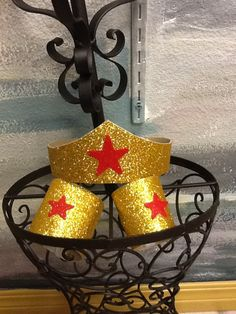 Wonder Woman Tiara and arm cuffs by parisianbridal on Etsy, $11.50