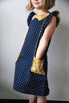 Crash-test de la robe Cosmo du créateur Sewpony. Je vous dis tout sur mon blog. Laisse Luciefer Blog.