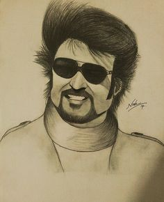 Rajinikanth Differentiation And Integration, Pencil Drawings, Art Drawings, Normal Person, Super Star, Hd Photos, Sketchbooks, Sketching, Doodle