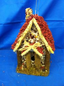 A favorite and strikingly beautiful too. Have fun with our Hansel and Gretel Edible Birdhouse Bird Feeder.