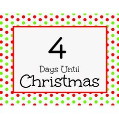 Just 4 more days till Christmas. Days Till Christmas, Christmas Countdown, Christmas Quotes, Christmas Humor, 4 More Days, Love Rules, Weekday Quotes, Have A Laugh, Monday Motivation