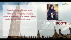 Lauren Booth quotes on Islam