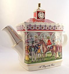 Your place to buy and sell all things handmade China Teapot, Royal Tea, Chocolate Pots, Handmade Home, Chinoiserie, English, Tea Time, Tea Cups, Decorative Boxes