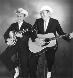 March The Stanley Brothers were in Brighton, Colorado, for an early morning radio interview. Stanley Brothers, Brighton Colorado, Ralph Stanley, Country Musicians, Gumbo, Banjo, Early Morning, Grass, Interview