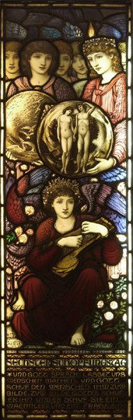 The Sixth Day of Creation :: edward coely burne-jones  1833-1898