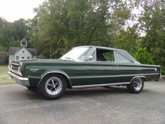 This look's like my 1966 Plymouth Belvedere I had, 318 power was not a GTX, It was my second car growing up in the Great Days ( Nick Chicone )