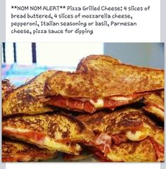 Pizza Grilled Cheese!!! YESS!!!